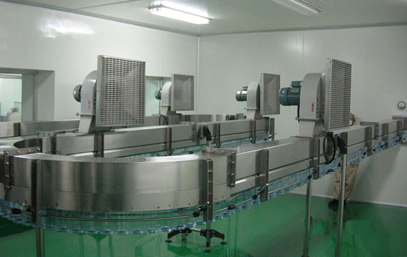 Air Conveyor of water filling line